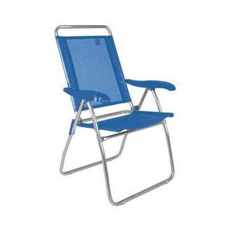 Cadeira Reclinável Boreal Azul Marinho
