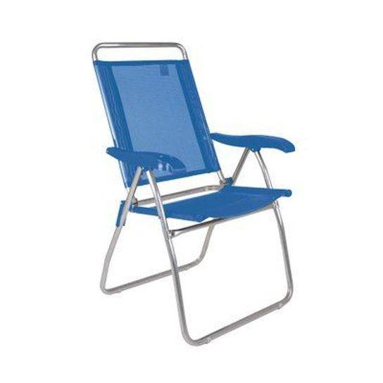 Cadeira Reclinável Boreal Azul Marinho - Azul+Marinho