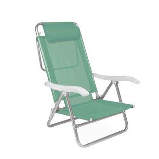 Cadeira Reclinável Sol de Verão com Almofada Anis