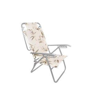 Cadeira Reclinavel Zaka em aluminio 5 posições Infinita