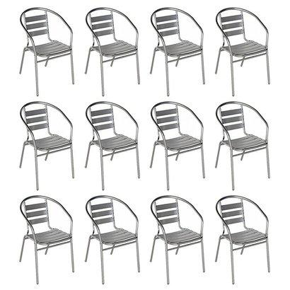 Cadeiras Poltrona em Alumínio para Jardim MOR