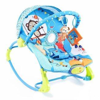 Cadeirinha de Descanso Bebê Dican Musical Vibratória Circo