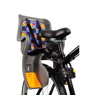 Cadeirinha Traseira Ciclismo Fixação Quadro Engate Rapido