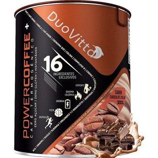 Café Termogênico Powercoffee+ Sabor: Chocolate Belga - 300g