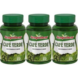 Café Verde 180 Cáps 500 mg - Semprebom