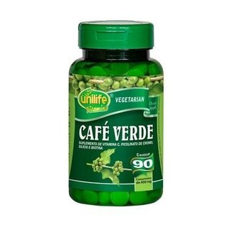 Café Verde - 90 Comprimidos - Unilife