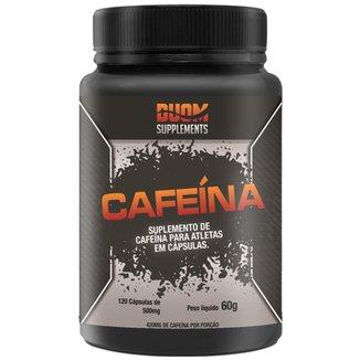 CAFEINA 210MG POR CAPSULA 120 CAPS - DUOM SUPPLEMENTS