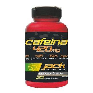 Cafeina 420mg (120 Comprimidos) - Jack Nutrition
