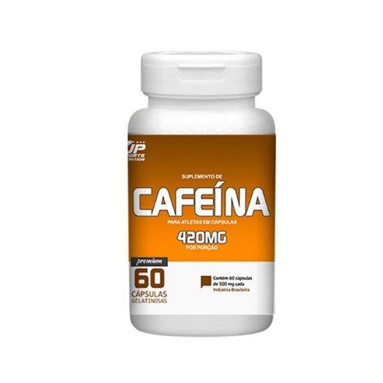 Cafeína 420mg 60 cápsulas - Up Sports Nutrition -