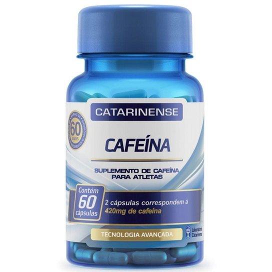 Cafeína - 60 cápsulas - Catarinense -
