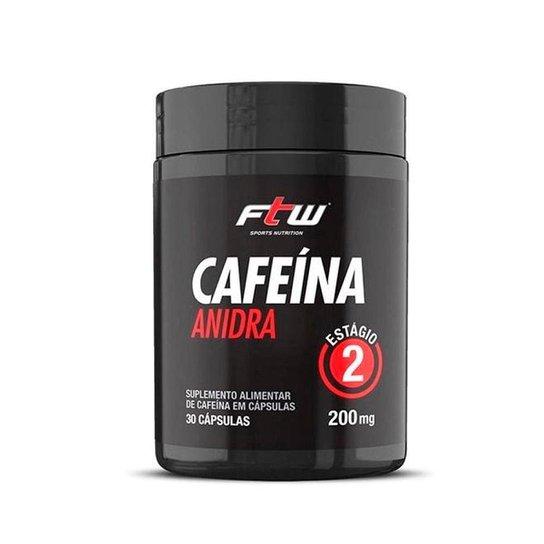 Cafeína Anidra 30 Cáps - FTW -