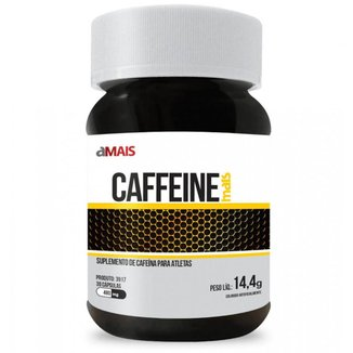 Cafeína Caffeine 30 Cápsulas De 480Mg