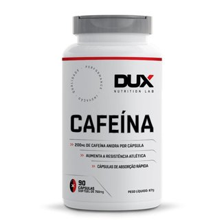 Cafeína Dux Nutrition 90 Cápsulas