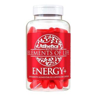Cafeína Elements of Life Energy+ 60 Cáps - Atlhetica Nutrition