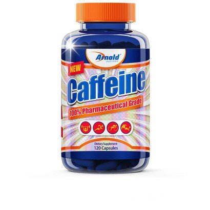 Caffeine 120 Cáps - Arnold Nutrition