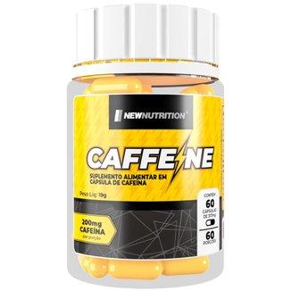 Caffeine 200mg 60 cápsulas NewNutrition