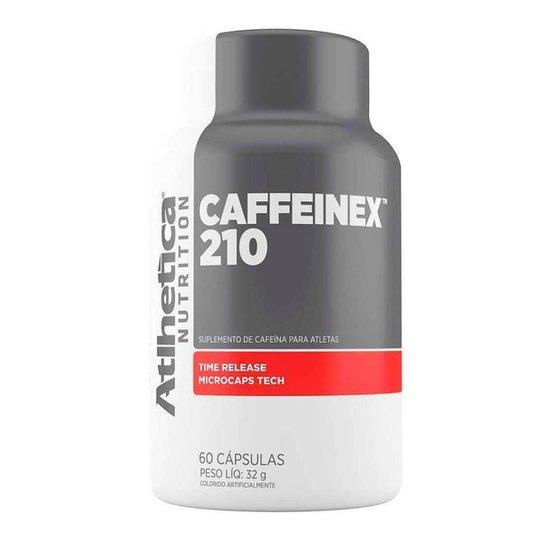 Caffeinex 210mg 60 Capsulas - Atlhetica Nutrition -