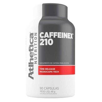 Caffeinex 210mg 90 Capsulas - Atlhetica Nutrition