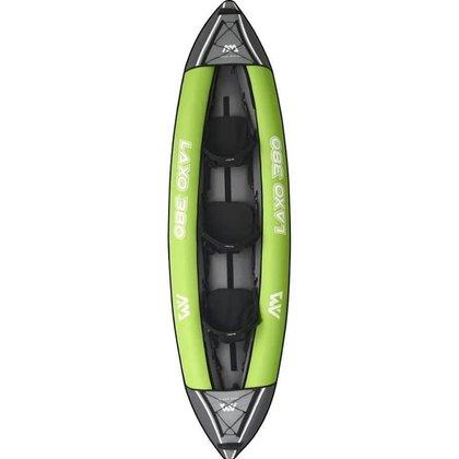 Caiaque Laxo 12'6 LA-380 Aqua Marina para 3 pessoas c/ Remo  incluído