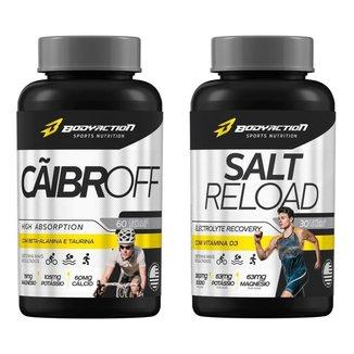 Cãibroff Anti Cãibras + Salt Reload Cápsulas Sal Body Action