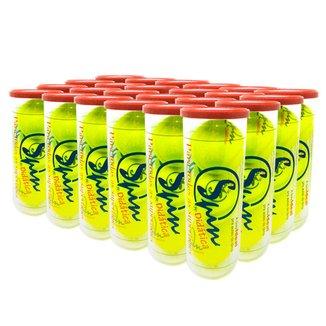 Caixa de Bola de Tênis Spin Didática All Court com 24 Tubos SPIN