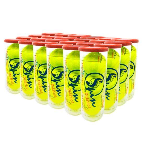 Caixa de Bola de Tênis Spin Didática All Court com 24 Tubos SPIN - Única