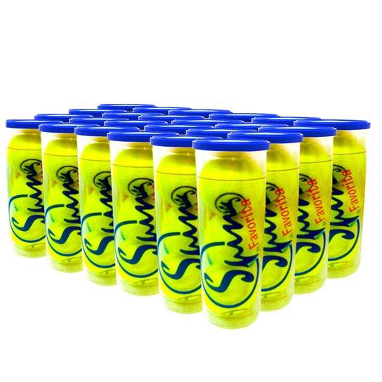 Caixa de Bola de Tênis Spin Favorita All Court com 24 Tubos SPIN - Única