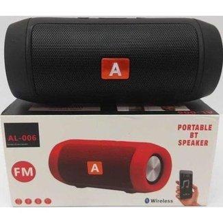 Caixa De Som Altomex Bluetooth Al006 Preto