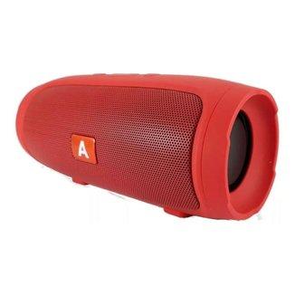 Caixa De Som Altomex Bluetooth Al006 Vermelho