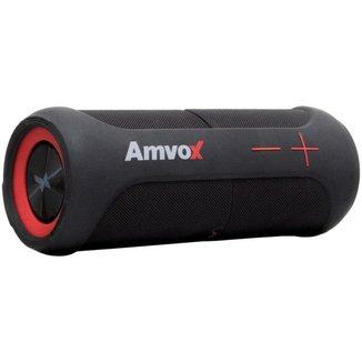 Caixa de Som Amvox Duo X Bluetooth Portátil - Amplificada 20W à Prova de Água