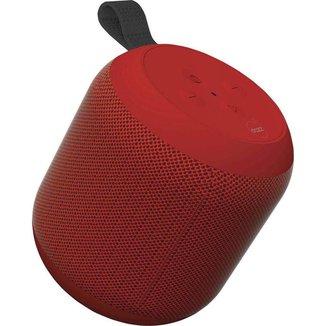 Caixa de Som Bluetooth Dazz 360° Vermelho - Ref.6