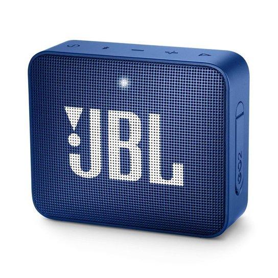 Caixa de Som Bluetooth JBL GO 2 à Prova D'água 3W - Azul