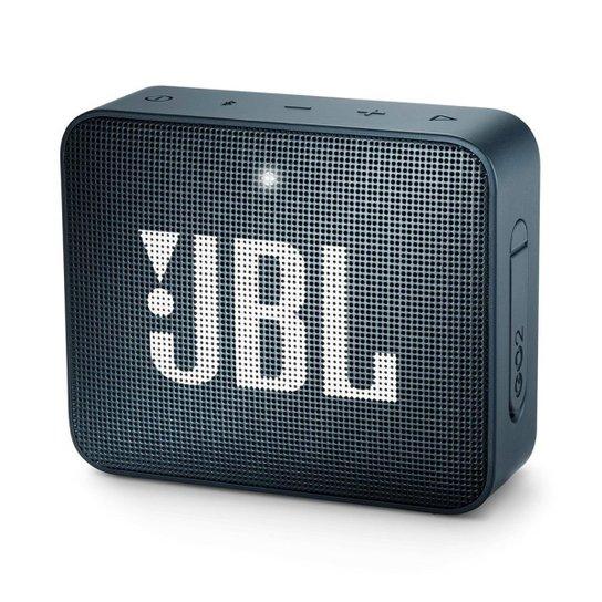 Caixa de Som Bluetooth JBL GO 2 à Prova D'água 3W - Azul Claro