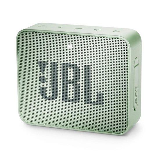 Caixa de Som Bluetooth JBL GO 2 à Prova D'água 3W - Verde claro