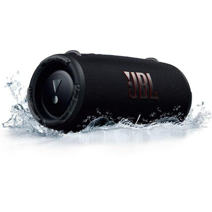 Caixa de Som Bluetooth JBL Xtreme 3 50W RMS à Prova D'água Preta