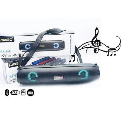 Caixa de Som  Bluetooth KM-203 Portátil