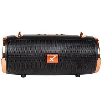 Caixa de Som Bluetooth Portátil Original Com Alça Metallic Premium Sem Fio