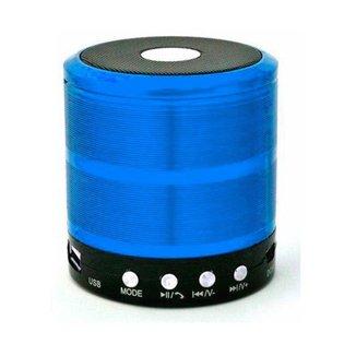 Caixa de Som Bluetooth Recarregável Mini Speaker Portátil USB Micro SD