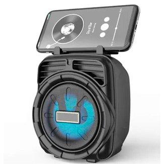 Caixa De Som Bluetooth Sem Fio Aparelho Portátil Tango Box