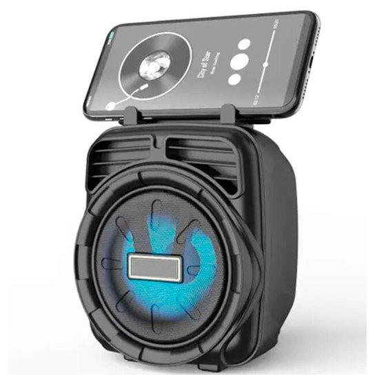 Caixa De Som Bluetooth Sem Fio Aparelho Portátil Tango Box - Preto