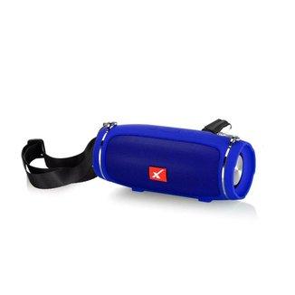 Caixa De Som Bluetooth Sem Fio Com Alça e Rádio FM Integrado Resistente à Respingos