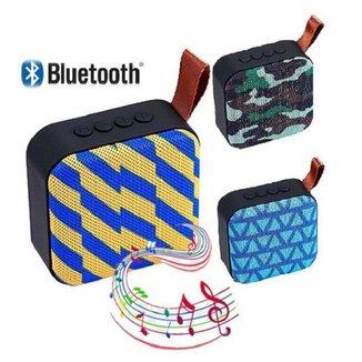 Caixa De Som Bluetooth T5 Portátil FM TF USB Academia Aula