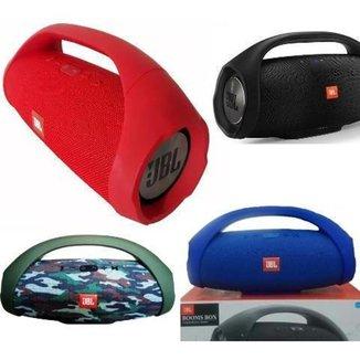 Caixa de som Boombox Maior vermelho