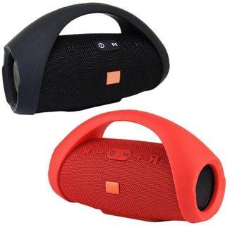 Caixa de som Boombox Medio vermelha