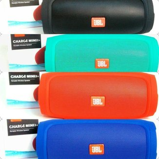 Caixa De Som Charge 3 Mini azul