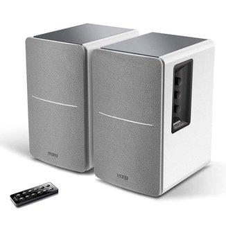 Caixa de Som Edifier R1280DB-WT - 42W RMS - Controle Remoto - Bluetooth, Optical, Coaxial e Dual RCA