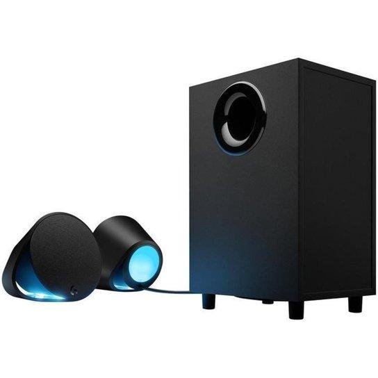 Caixa de Som Gamer Logitech 2.1 120W Bluetooth - Preto