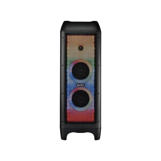 Caixa de Som Gradiente Extreme Colors Full Led - Preto