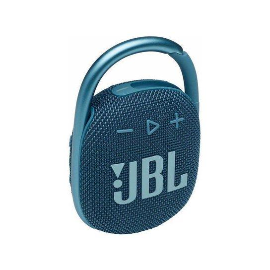 Caixa de Som JBL Clip 4  Bluetooth Portátil - Azul