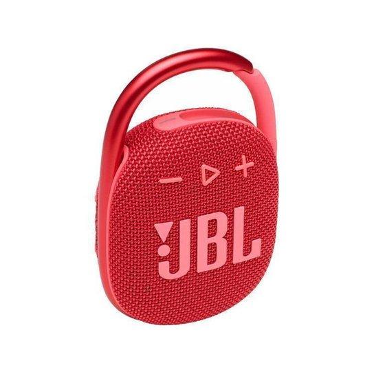 Caixa de Som JBL Clip 4  Bluetooth Portátil - Vermelho